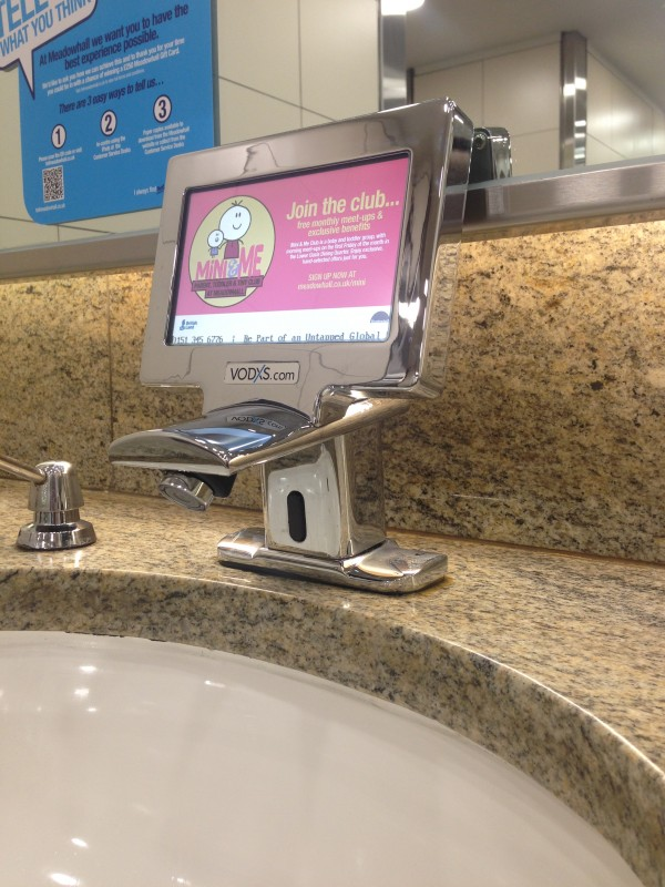 Tele Taps Screens- Meadowhall Shopping centre