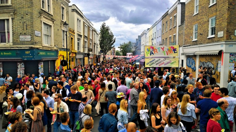 Notting Hill Carnival Package (2 million Visitors)